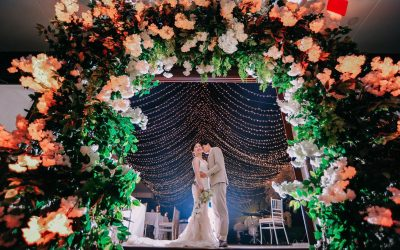 """""""Under the Stars, there is you and me""""  Paulo & Miyuki #AugustWeddings #MrMr…"""