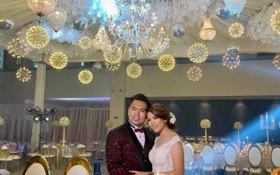 The Royal Wedding of Kaio and Yel  Congratulations! #ItsADiel #MrMrsDiel #Elegan…