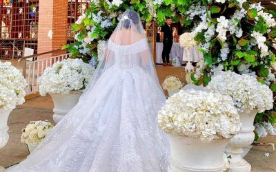 The Wedding Ceremony of Valner and Audrey  #notyourAUDREYnaryloveESTORES   www.e…