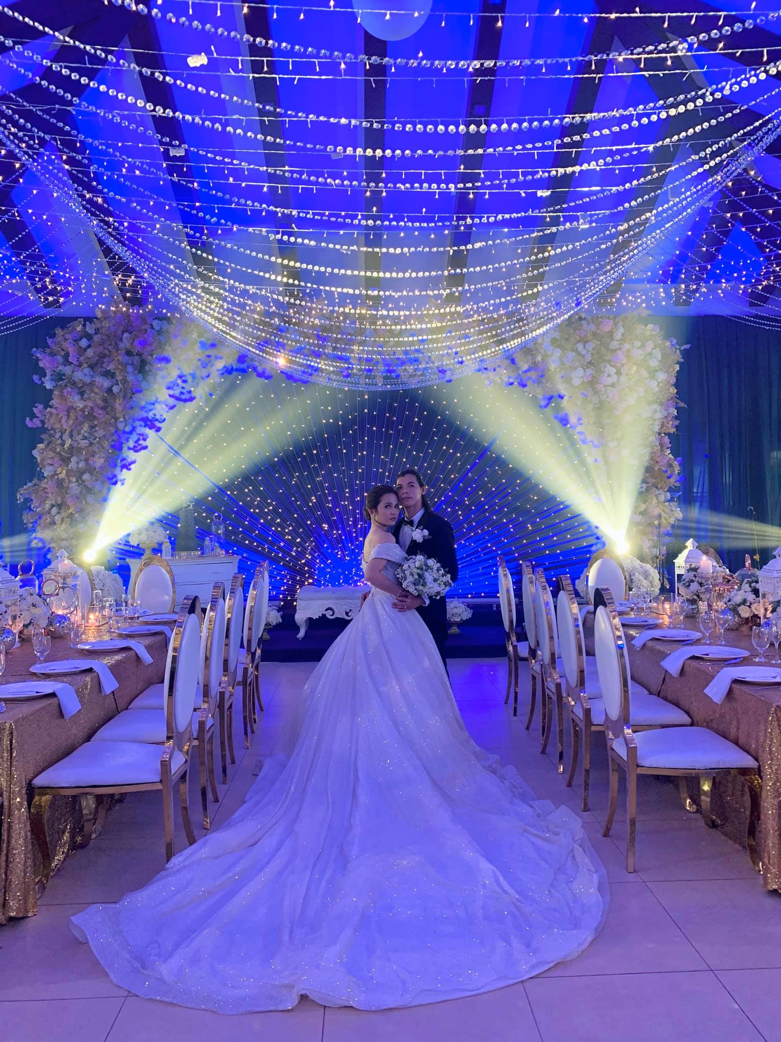 Starry Starry Night Themed Wedding Of Wrenzero Omega Chng Juaton Omega O Events By Liz
