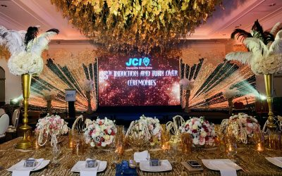 Gatsby Themed Event.  The 35th Induction & Turnover Ceremonies of Jci Davaoe…
