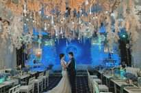 Modern Starry Night Wedding Theme |  Jeff & Tina  Events by Liz – Lizza Bent…